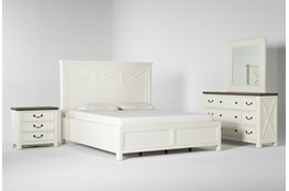 Garland California King Panel 4 Piece Bedroom Set