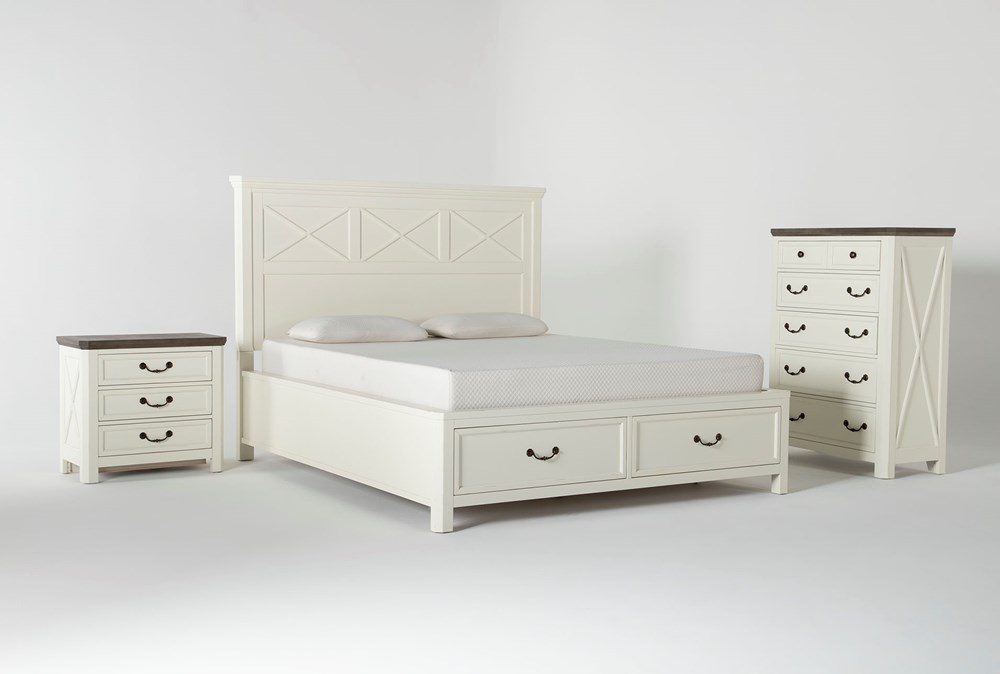 Garland California King Storage 3 Piece Bedroom Set