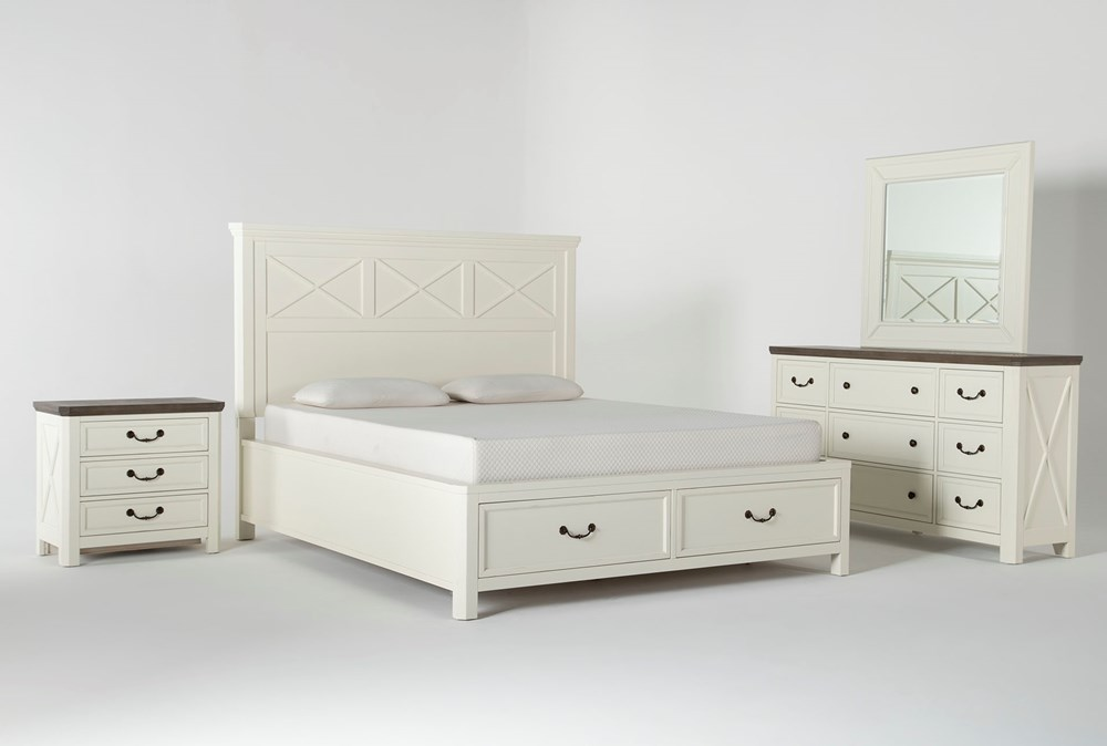Garland California King Storage 4 Piece Bedroom Set
