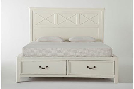 Garland California King Panel Bed With Storage