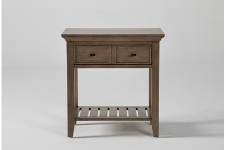 Presby Nutmeg Open Nightstand