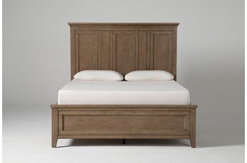 Presby Nutmeg Queen Panel Bed