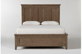 Presby Nutmeg Queen Panel Bed With Storage