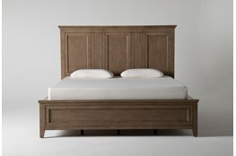 Presby Nutmeg Eastern King Panel Bed