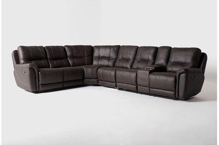 Juniper 4 Piece Reclining Sectional With Right Arm Facing Console Loveseat