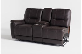 Juniper Left Arm Facing Dual Reclining Console Loveseat