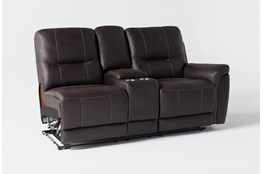 Juniper Right Arm Facing Dual Reclining Console Loveseat