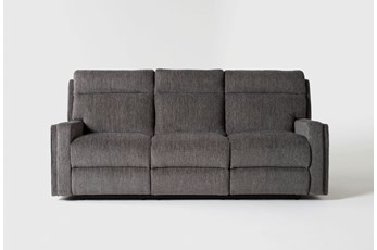 Hewitt Grey Reclining Sofa