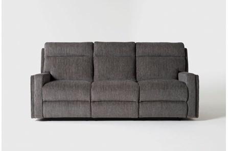Hewitt Grey Reclining Sofa