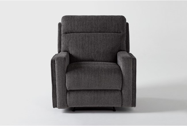 Hewitt Grey Recliner - 360
