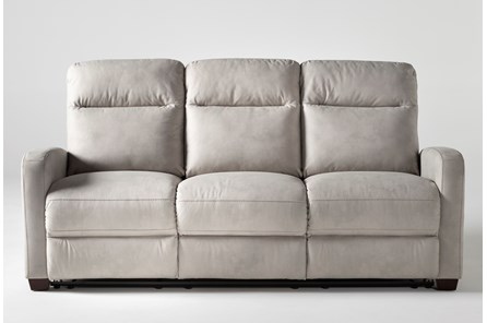 Jarrell Light Grey Reclining Sofa
