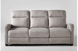Jarrell Light Grey Power Reclining Sofa With USB