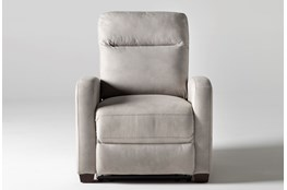 Jarrell Light Grey Recliner