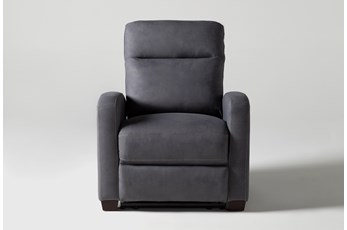 Jarrell Blue Grey Recliner