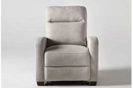 Jarrell Light Grey Power Recliner With USB