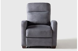 Jarrell Blue Grey Power Recliner With USB
