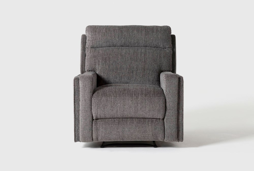 Hewitt Grey Power Recliner With USB
