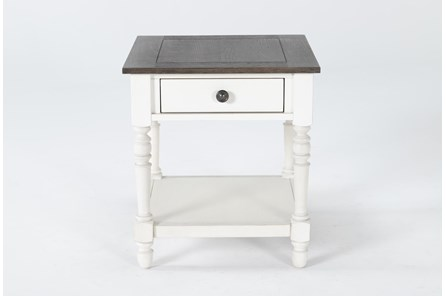 Candice Two-Tone End Table - Main
