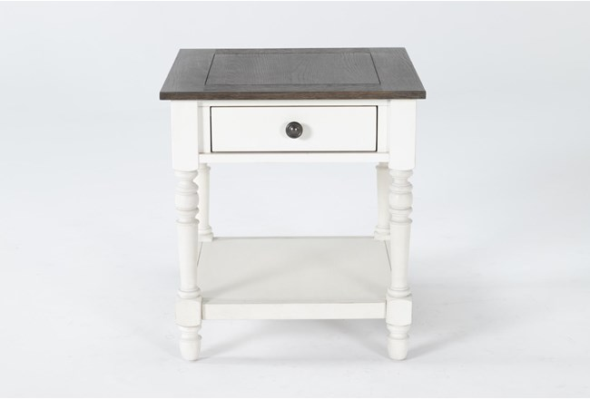 Candice Two-Tone End Table - 360