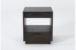 Pierce Black End Table