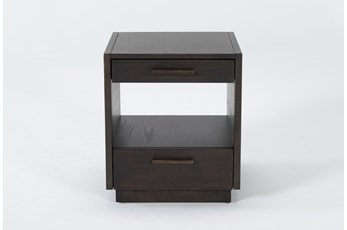 Pierce Espresso End Table