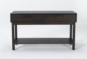 Pierce Espresso Console Table