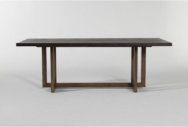 Pierce Black Dining Table - 360