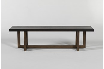 Pierce Black Bench