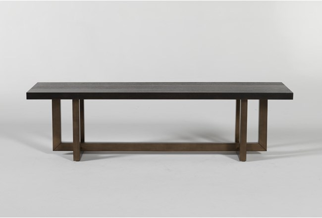 Pierce Black Bench - 360