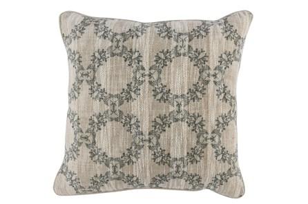 Accent Pillow-Bay Green Wreaths 22X22 - Main