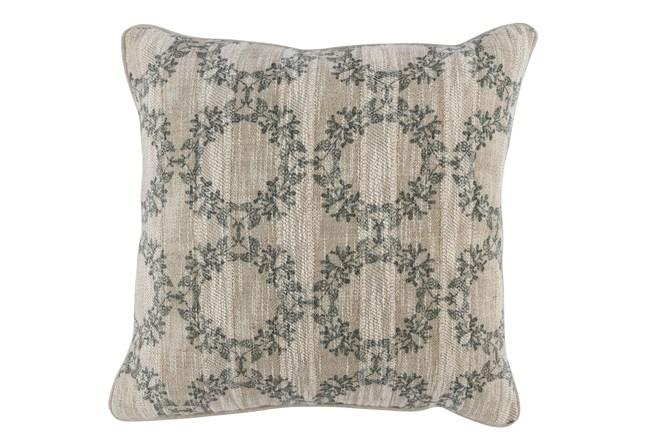 Accent Pillow-Bay Green Wreaths 22X22 - 360