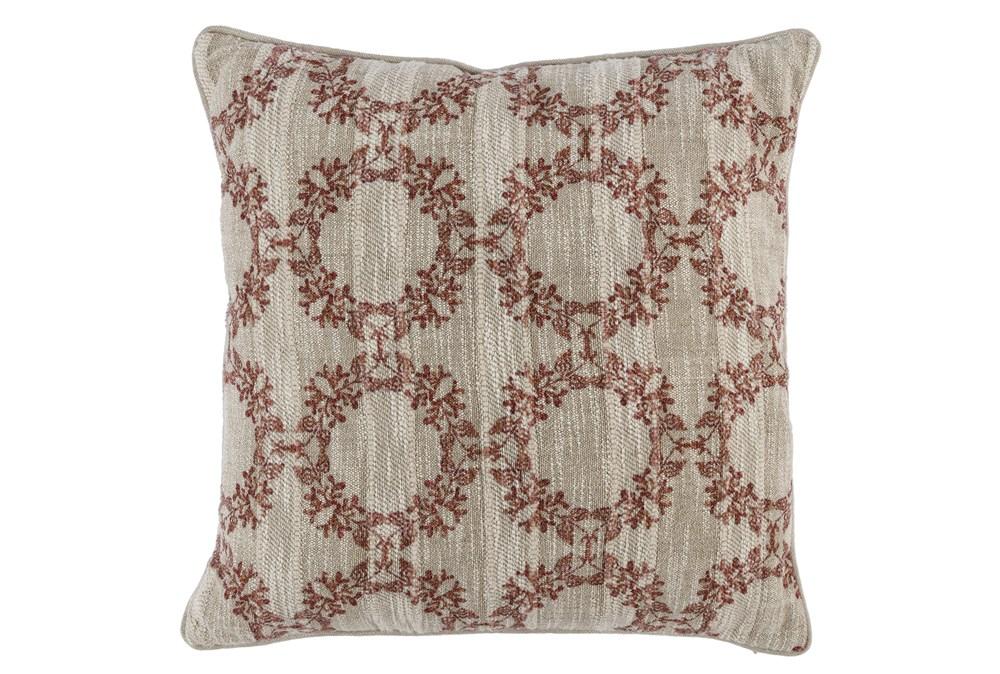 Accent Pillow-Auburn Wreaths 22X22