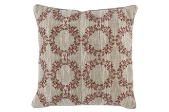 Accent Pillow-Auburn Wreaths 22X22