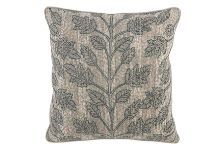 Accent Pillow-Bay Green Leaves 22X22