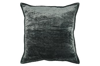 Accent Pillow-Bay Green Silk Velvet 20X20