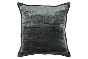 Accent Pillow-Bay Green Silk Velvet 20X20