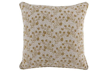 Accent Pillow-Wheat Vines 20X20