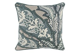 Accent Pillow-Bay Green Large Scale Leaf 20X20