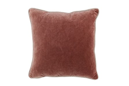 Accent Pillow-Auburn Velvet 20X20