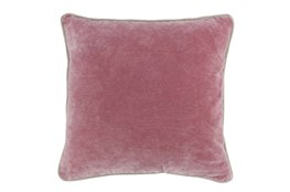 Accent Pillow-Rose Velvet 20X20
