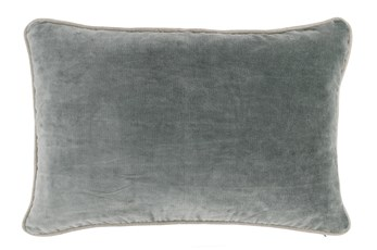 Accent Pillow-Green Bay Velvet 14X20