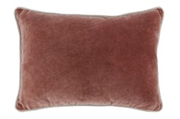 Accent Pillow-Auburn Velvet 14X20