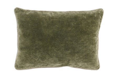 Accent Pillow-Moss Velvet 14X20 - Main
