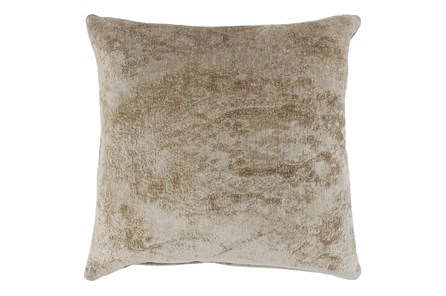 Accent Pillow-Wheat Woven Chenille Pattern 22X22