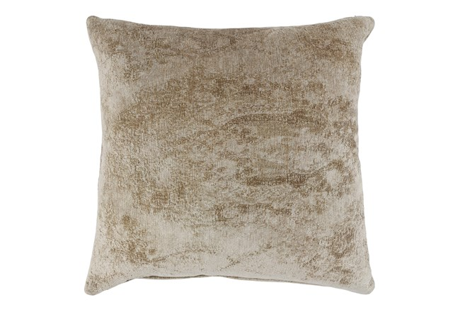 Accent Pillow-Wheat Woven Chenille Pattern 22X22 - 360