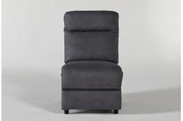 Jarrell Blue Grey Armless Chair