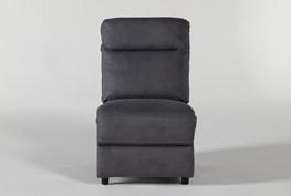 Jarrell Blue Grey Armless Chair
