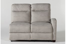 Jarrell Grey Right Arm Facing Power Reclining Loveseat With USB