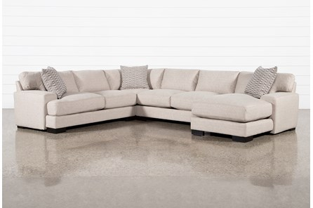 Aidan III 4 Piece Sectional With Right Arm Facing Chaise