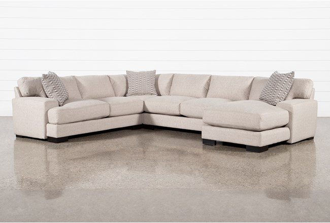 Aidan III 4 Piece Sectional With Right Arm Facing Chaise - 360